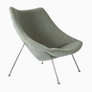 Large Oyster F157 Chair by Pierre Paulin for Artifort