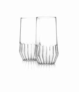 Large Mixed Glass by Felicia Ferrone for fferrone, Set of 2