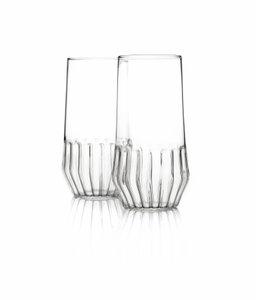 Vasos Mixed grandes de Felicia Ferrone para ferrone. Juego de 2