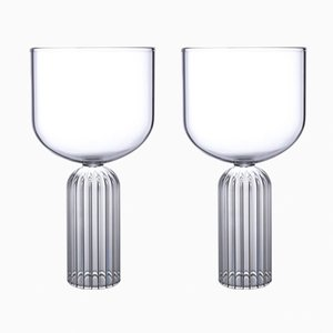 Large May Glasses by Felicia Ferrone for fferrone, Set of 2