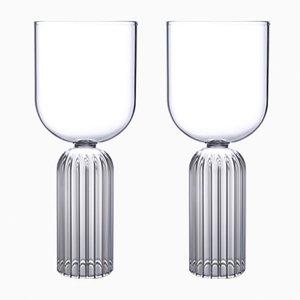 Bicchieri May medi di Felicia Ferrone per fferrone, set di 2
