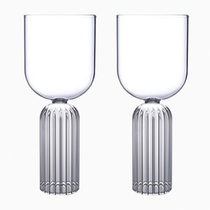 Verres Medium May par Felicia Ferrone pour fferrone, Set de 2