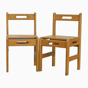 Vintage Italian Children's Chairs, Set of 2