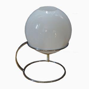 Chrome & Opal Lamp, 1970s
