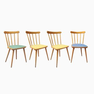 Scandinavian Chairs, 1960s, Set of 4