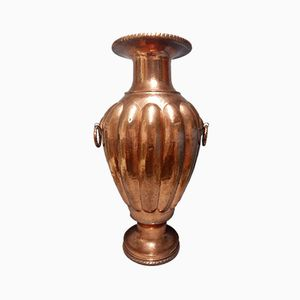 Large Antique Copper Vase