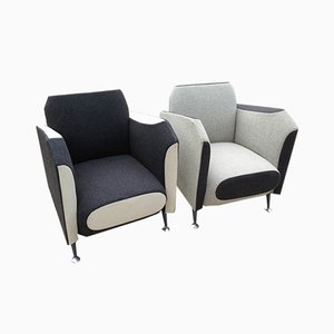 Hotel 21 Armchairs by Javier Mariscal for Moroso, 1990s, Set of 2