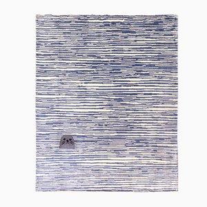 Baby Seal Teppich aus veganem Tencel & Leinen von Jorey Hurley für Junior Monarch
