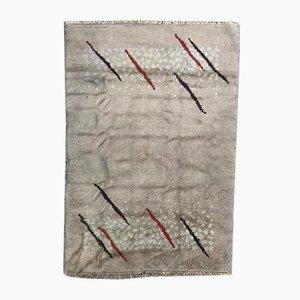 Handgemachter marokkanischer Vintage Teppich
