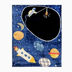 Tappeto Space Ace in tencel e lino di Daria Solak per Junior Monarch