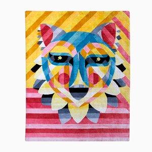 Desert Fox Teppich aus Seide & Wolle von Ruben Sanchez für Junior Monarch