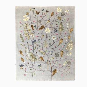 Alfombra Midsummer Bloom de seda y lana de Mimmi Blomqvist para Junior Monarch