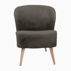 Personalisierbarer Vintage Sessel mit abgerundeter R