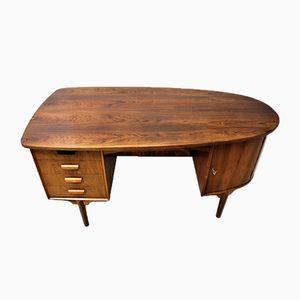 Vintage Scandinavian Rosewood Desk