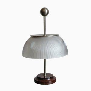 Lampe de Bureau Alfa en Palissandre pour Artemide, 1960s
