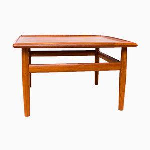 Table Basse en Teck par Grete Jalk pour Glostrup, 1960s