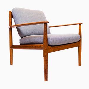Dänischer Mid-Century Sessel aus Teak von Grete Jalk für Cado, 1960er