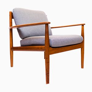 Mid-Century Danish Teak Lounge Chair by Grete Jalk for Cado, 1960s