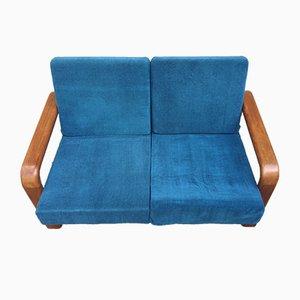 Vintage Danish Teak Sofa