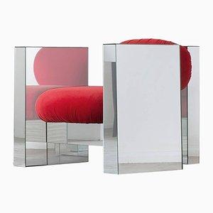 Fauteuil Invisible en Miroir par Rooms