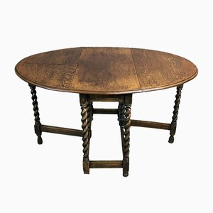 Vintage Oak Gateleg Table