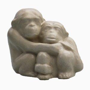 Figurina vintage in ceramica di Doulton Lambeth, Inghilterra