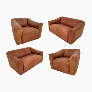 DS-47 Cognac Leather Seats by de Sede, 1970s, Set of 4