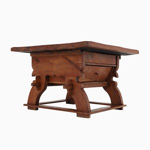 Swiss Oak Refectory Table, 1780s
