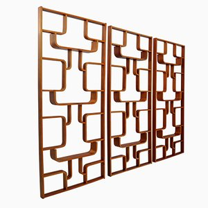 Bentwood Room Divider by Ludvik Volak for Thonet, 1960s
