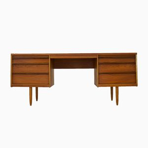 Mid-Century Desk or Dressing Table in Rosewood & Teak by Frank Guille for Austinsuite