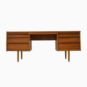 Mid-Century Schreibtisch oder Frisiertisch aus Palisander & Teak von Frank Guille für Austinsuite