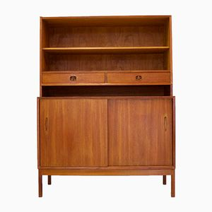 Mid-Century Domi 3 Teak Bookcase by Nils Jonsson for Hugo Troeds
