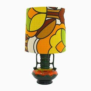 Lámpara de cerámica, años 70