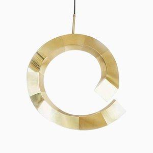 Lampada a spirale in ottone di ROOMS