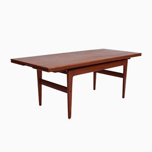 Adjustable Coffee or Dining Table in Teak, 1960s