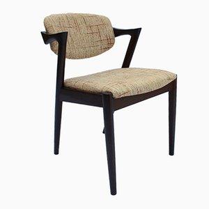 Chaise de Salle à Manger Modèle 42 par Kai Kristiansen pour Schou Andersen, 1960s