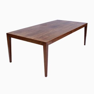 Rosewood Coffee Table by Severin Hansen for Haslev Møbelsnedkeri, 1960s