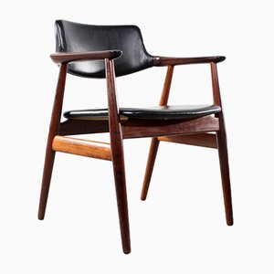 Vintage Rosewood Dining Chair by Svend Aage Eriksen for Glostrup