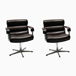 Chaises de Bureau, 1960s, Set de 2