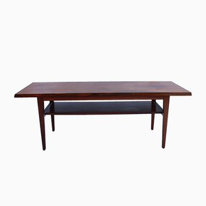 Table Basse en Palissandre, Danemark, 1960s
