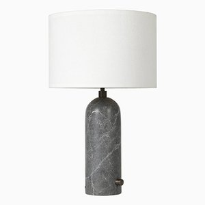 Gravity Grey Marble Table Lamp by Louis Weisdorf
