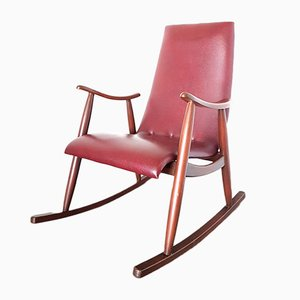 Rocking Chair Mid-Century par Louis Van Teeffelen, 1960s