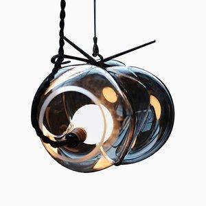 Lámpara colgante Exhale de cristal de Catie Newell