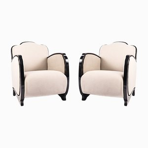 French Art Deco Armchairs, 1930s