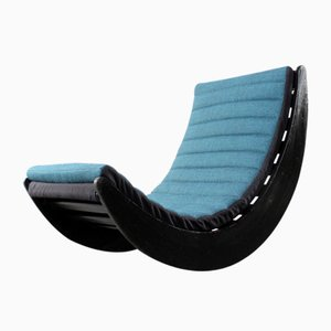 Vintage Rocking Chair by Verner Panton for Rosenthal, 1970s