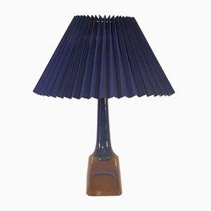 Lámpara de mesa de cerámica de Einar Johansen para Soholm, años 60