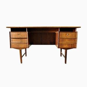 Vintage Scandinavian Teak Desk