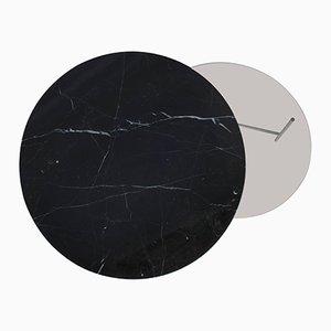 Table Basse Zorro en Marbre Noir par Note Design Studio