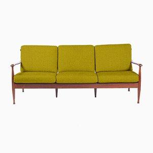Personalisierbares Mid-Century 3-Sitzer Sofa aus Palisander