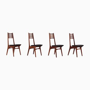 Model 83 Dining Chairs by Niels Otto Møller for Boltinge Stolefabrik, 1960s, Set of 4